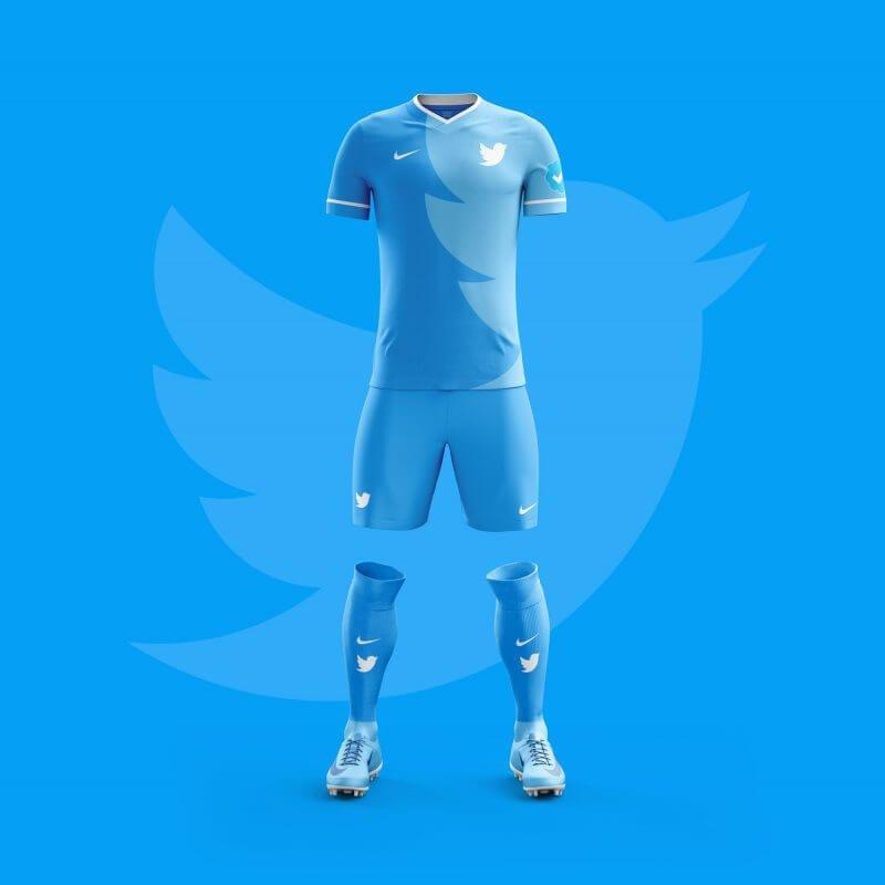 Twitter futbol takımı forması
