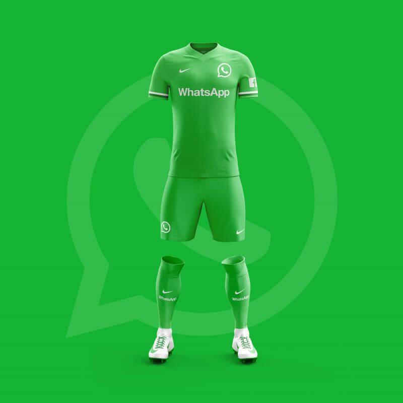 Whatsapp futbol takımı forması